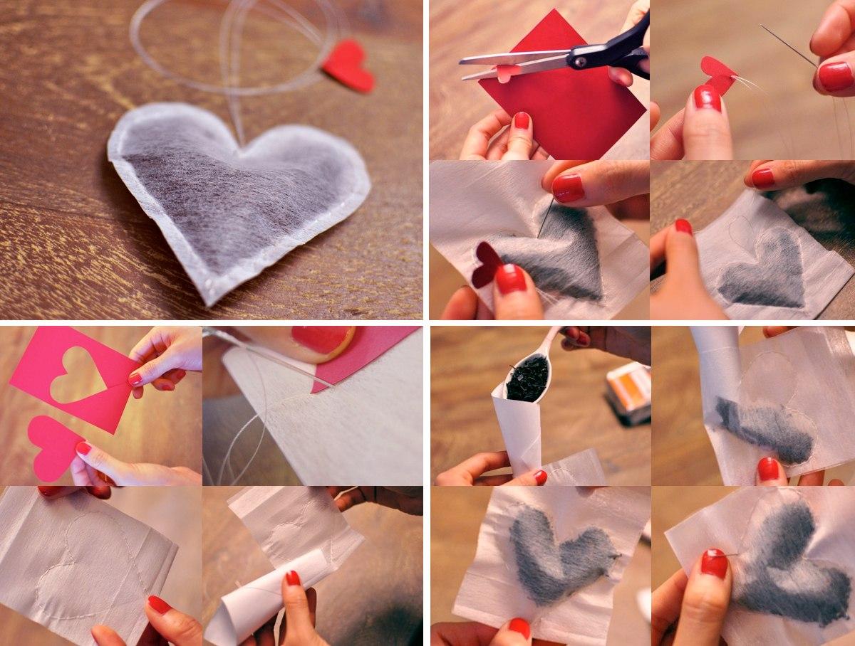 Подарок из бумаги любимой