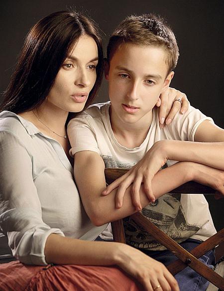 Мейхер с сыном