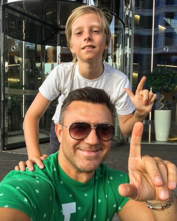 тищенко с сыном