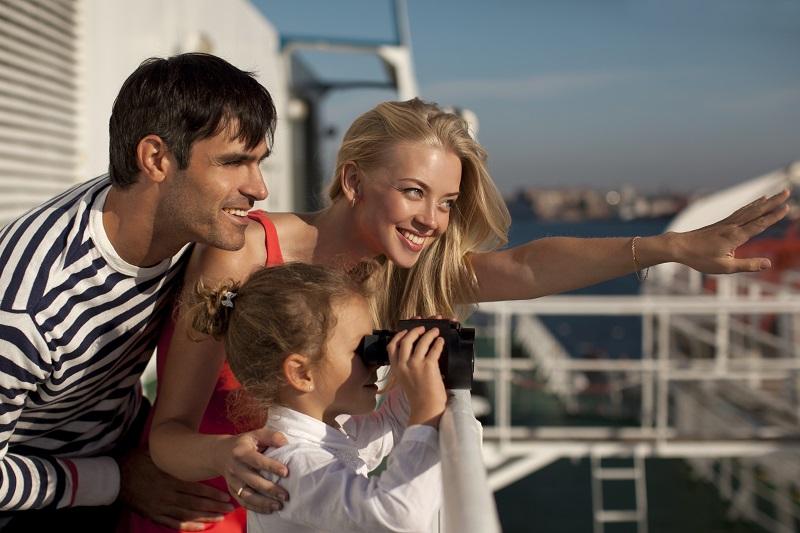 семейный отдых на корабле