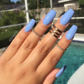 Какая сейчас в моде форма ногтей