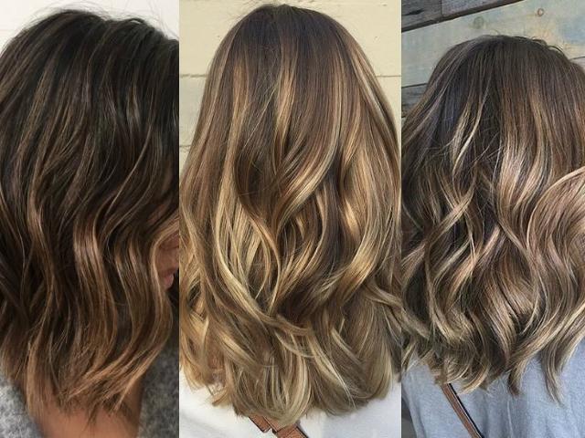Новая техника окрашивания волос