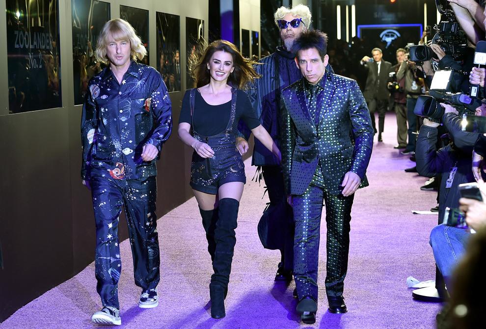 Мировая премьера «Образцового самца-2»: Пенелопа Крус, Наоми Кэмпбелл, Кендалл Дженнер и другие звезды