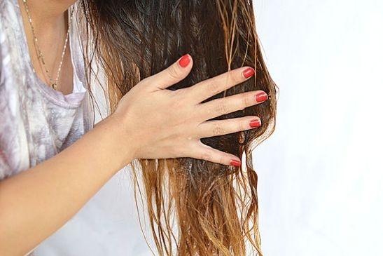 Как наносить масло для волосы