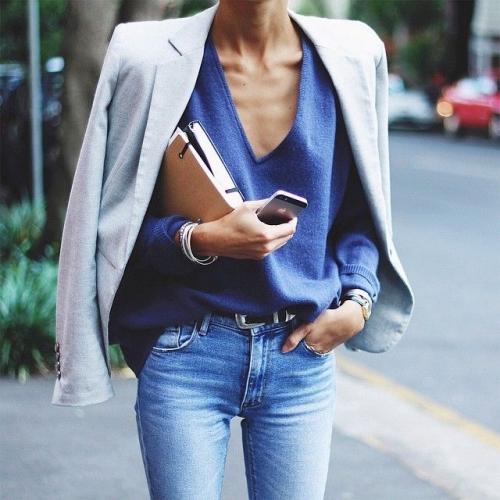 Офисная модница: 5 новых способов носить жакет