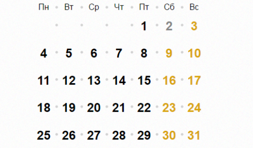 Православный календарь 11 декабря 2016 года