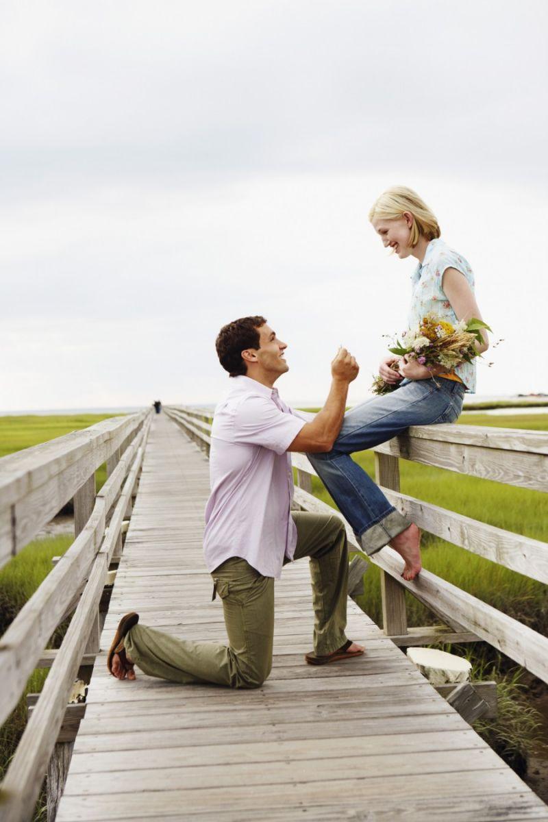 Как вам муж сделал предложение