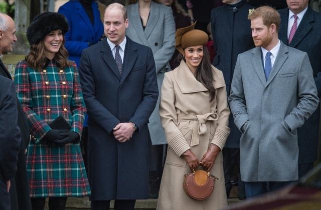 Королевская семья, Кейт Миддлтон и Меган Маркл