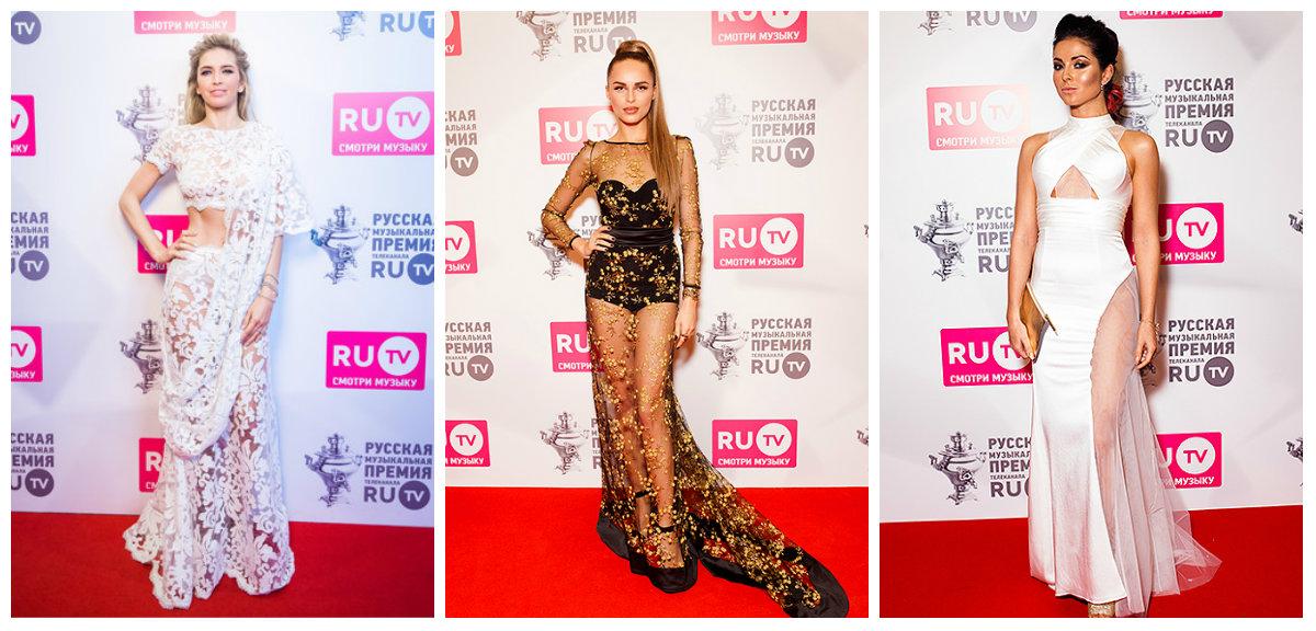 Самые сексуальные платья RU.TV 2016 фото