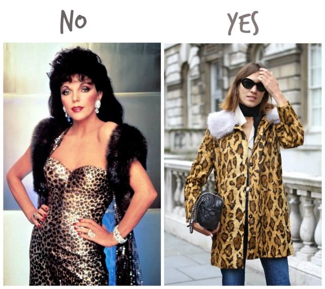 ак носить одежду с леопардовым принтом осенью 2016