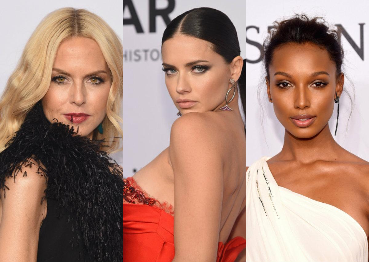 Красная дорожка amfAR New York Gala 2016: Ума Турман, Хайди Клум, Адриана Лима и другие звезды в роскошных нарядах