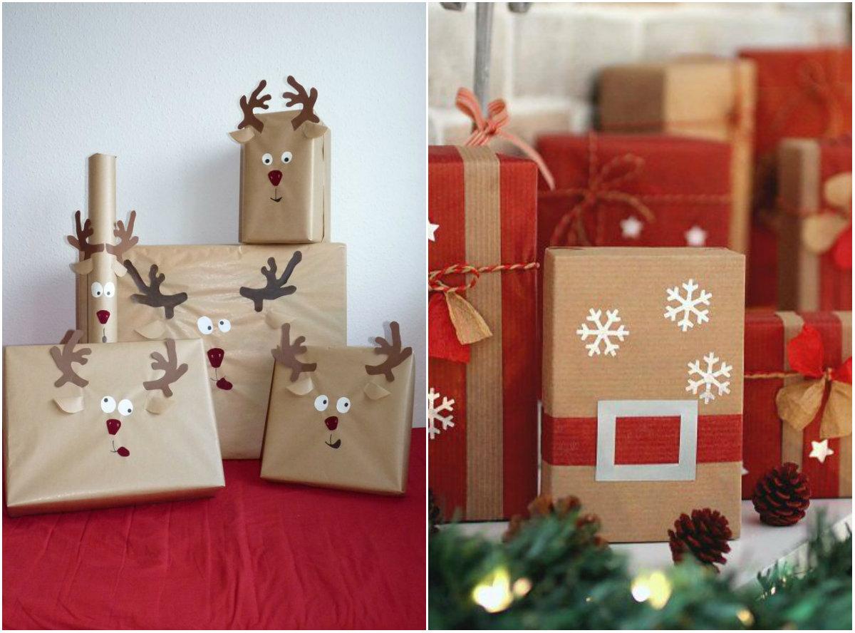 Украшения подарочной коробки своими руками