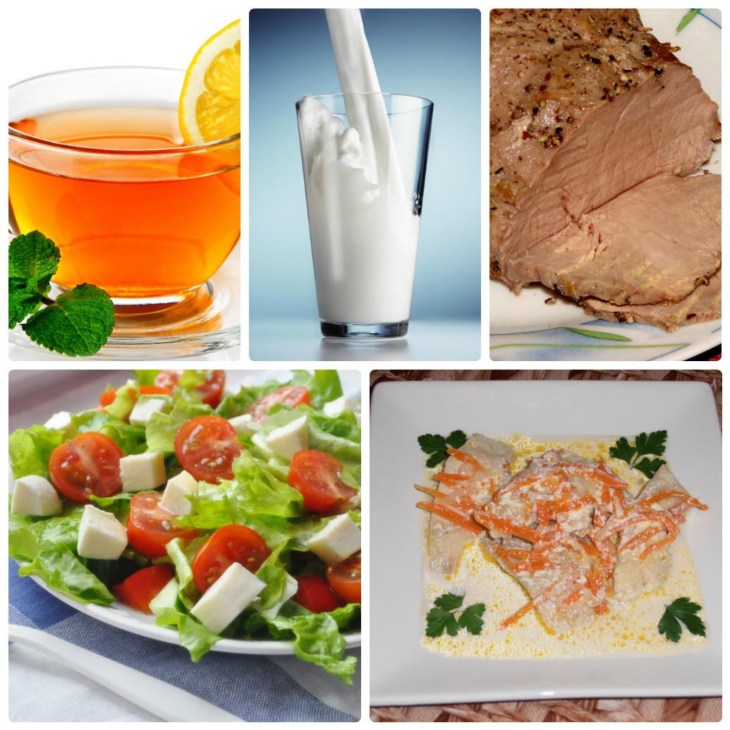 диета меню на 14 дней самая простая