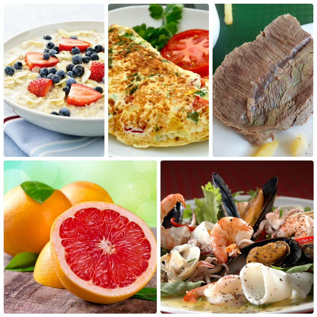 белковая диета для похудения таблица баллов