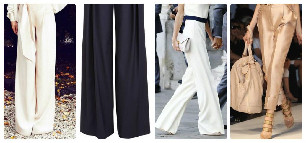 Виды классических брюк