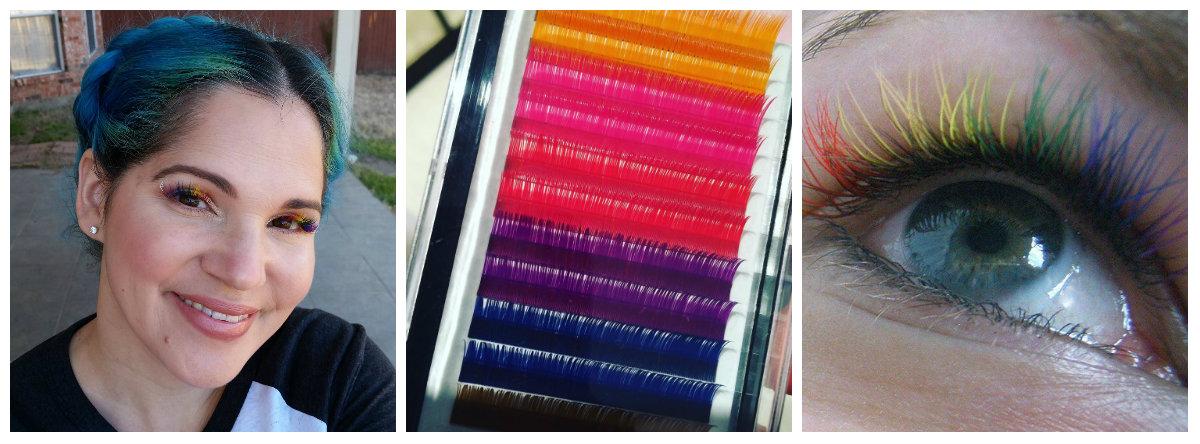 Радужные ресницы: новый тренд в салонах красоты, который скоро доберется до нас