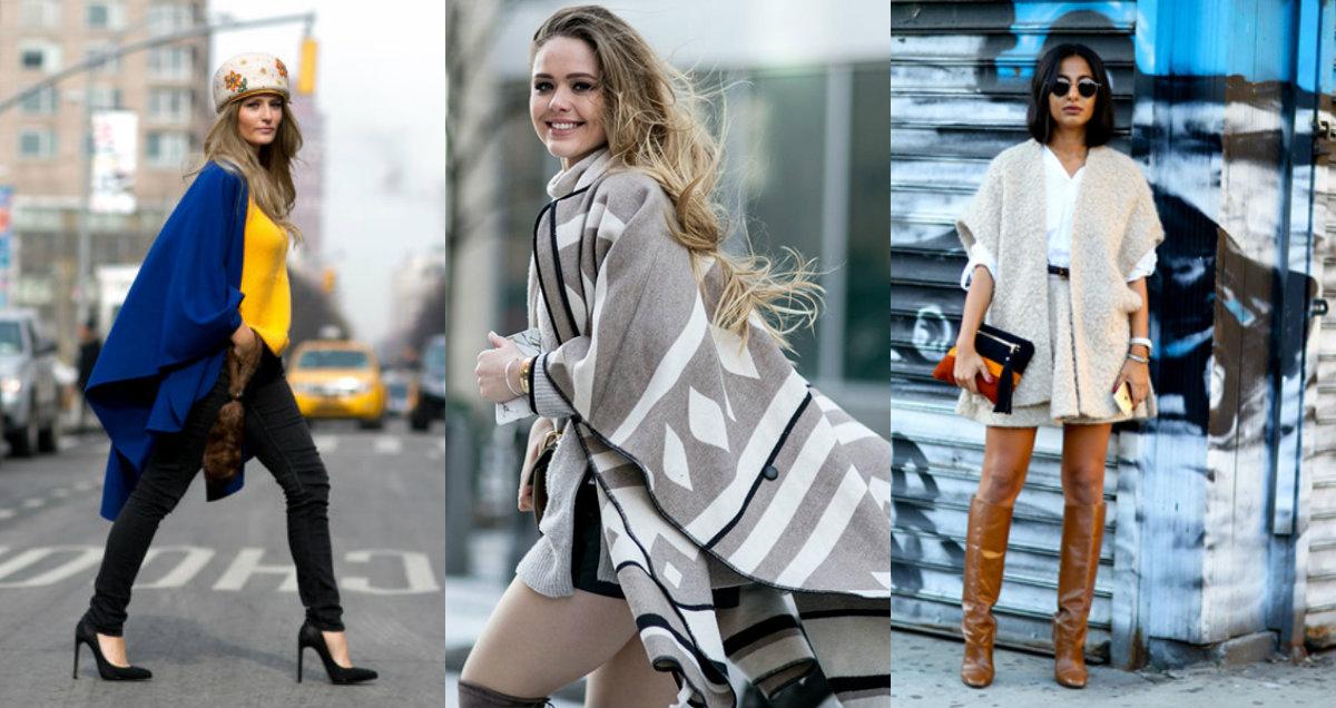 Стильно и тепло одеться осенью