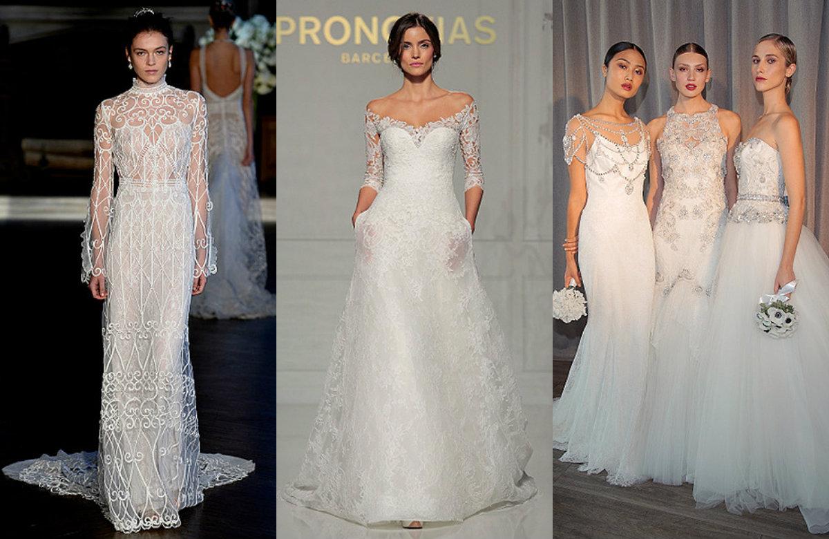 Свадебные платья недели моды