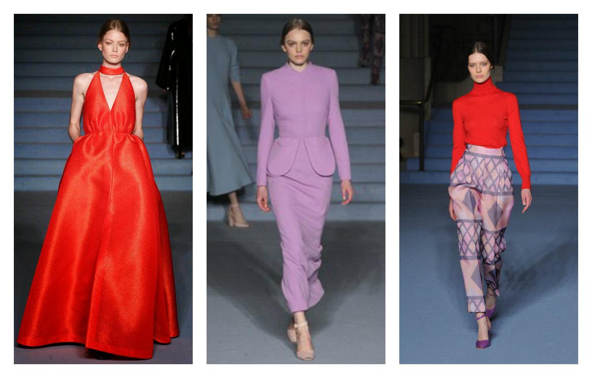 Платья с недели моды