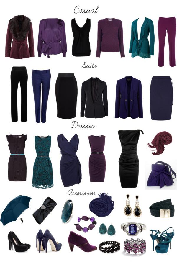 Подобрать платье по цветотипу