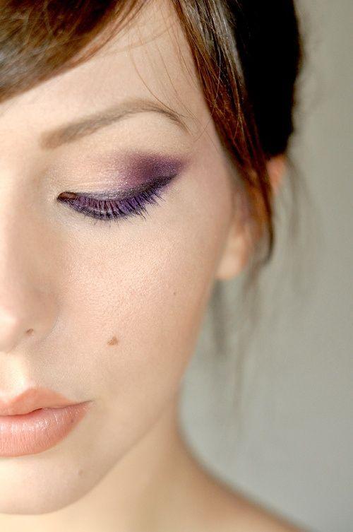 Стильный макияж для карих глаз
