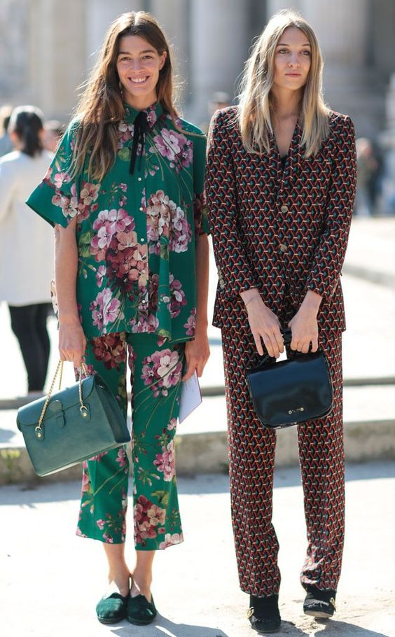 Street style: как носить брючный костюм весной