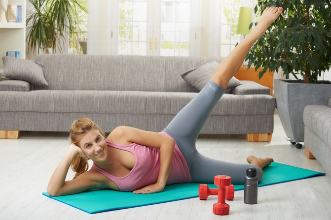 Секс фитнес на дому
