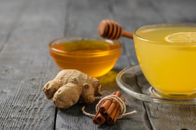 корица с медом и имбирем