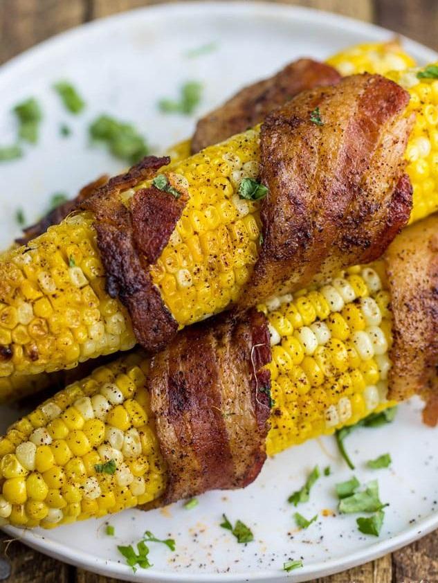 кукуруза на гриле