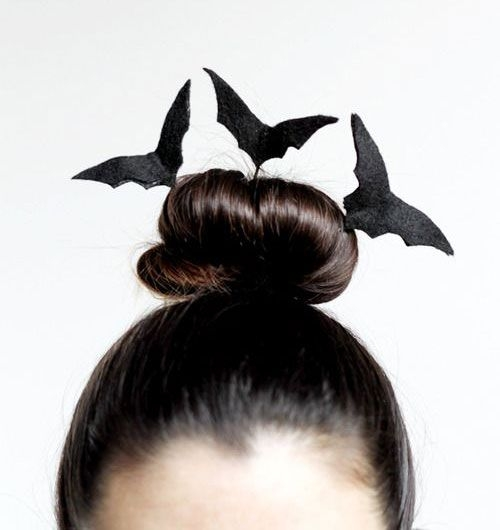 прическа хэллоуин