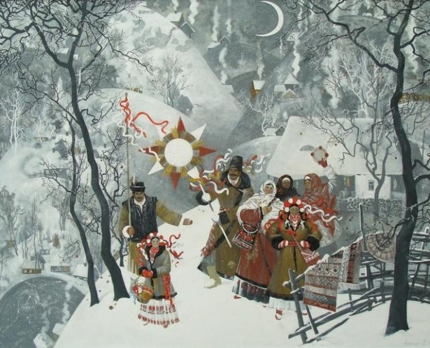 Поздравления стихами на рождество на украинском языке