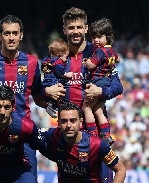 Сыновья Шакиры на футболе фото