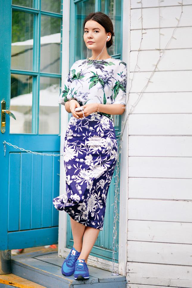 Кроссовки с юбками платьями фото