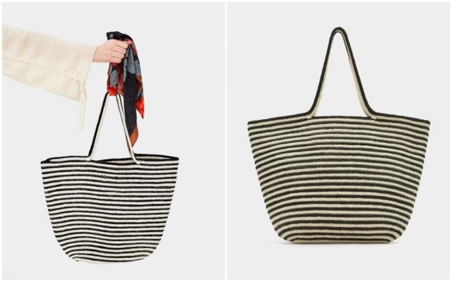 Комбинированная сумка-тоут, Pull&Bear – 1300 грн