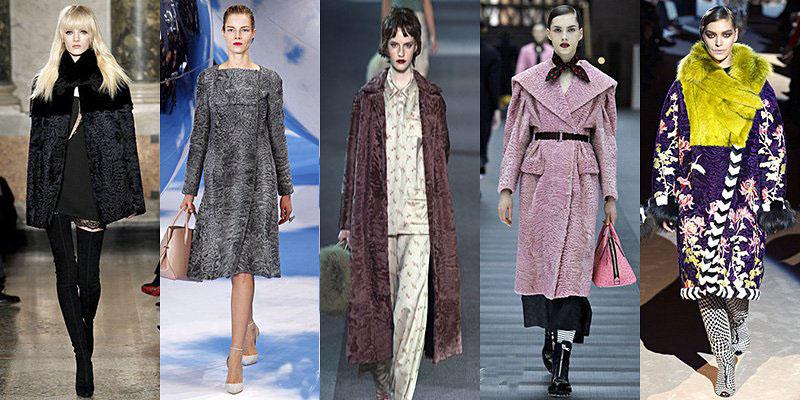 Модные шубы сезона зима 2013-2014