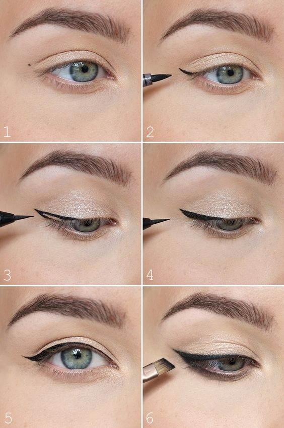 How to make cat eye makeup