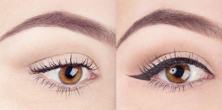 Как сделать больше глаза с помощью карандаша