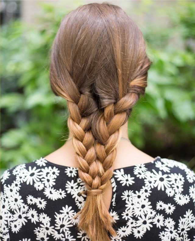 Прически на длинные волосы в жаркую