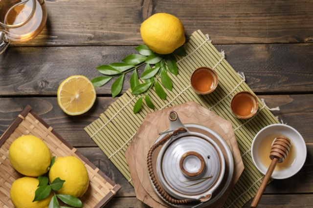 корица с медом и лимоном