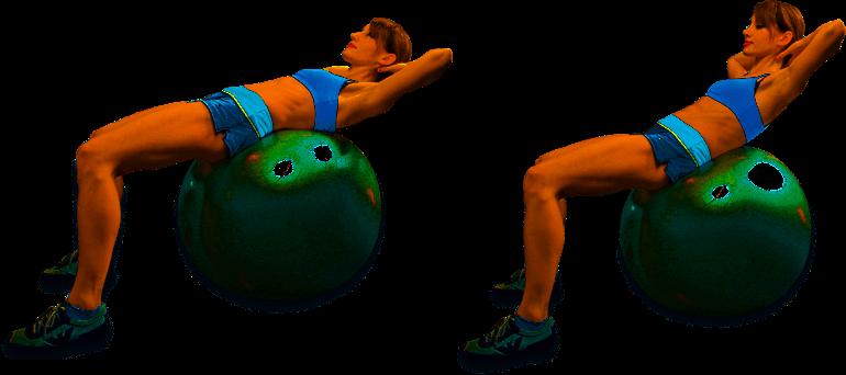 упражнения для фитбола для фитнеса