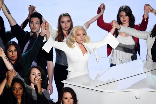 Леди Гага Оскар 2016