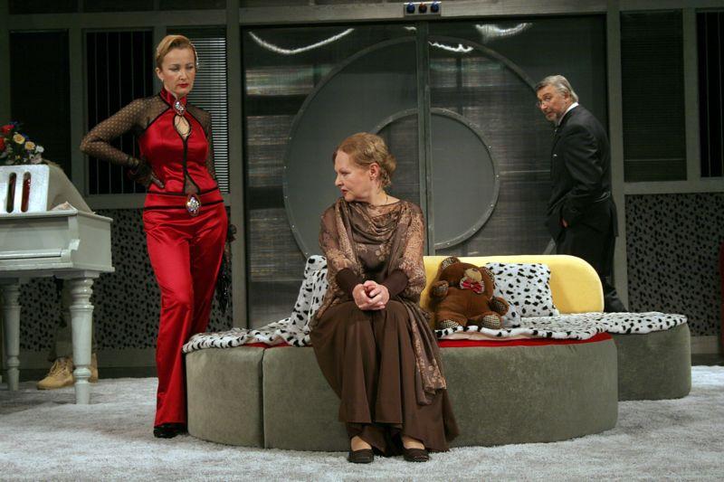 Елена Стефанская в театре