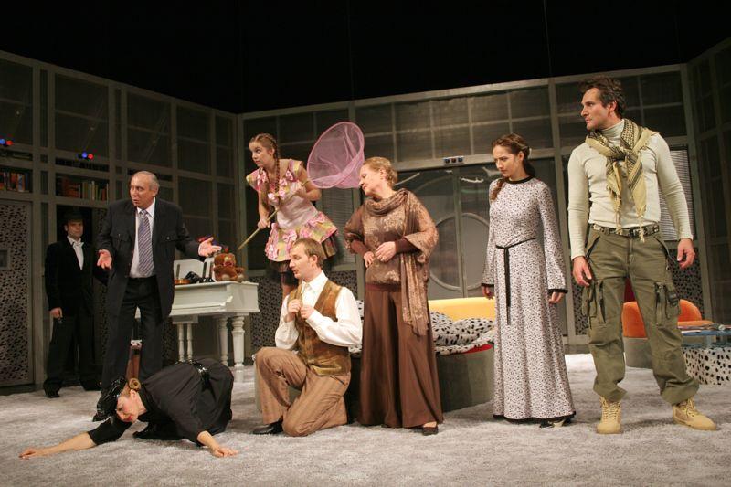 Стефанская в театре