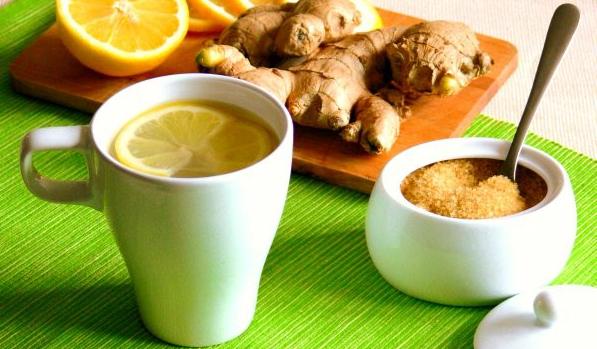 имбирный чай зеленым чаем для похудения