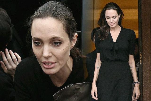 Анджелина Джоли: окружение исполнительницы отом как она питается