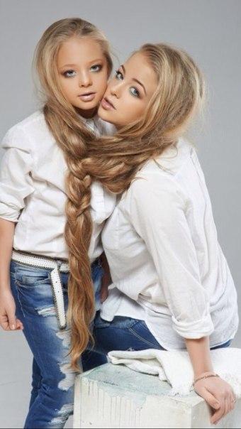 Петрик с сестрой