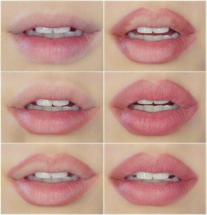 увеличить губы, как увеличить губы с помощью косметики, как увеличить губы с помощью макияжа, макияж губ, пламплер