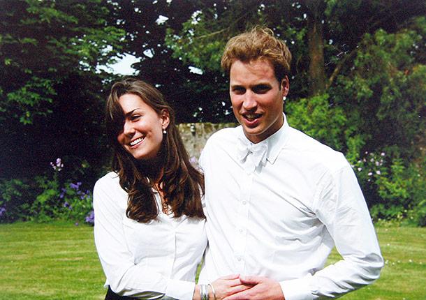 кейт миддлтон и принц уильям в молодости фото