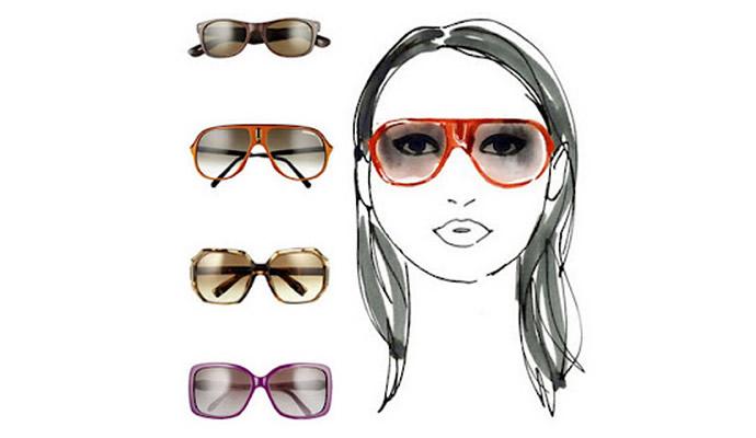 как правильно подобрать очки по форме лица: