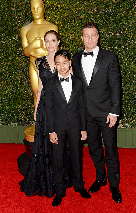 сын Джоли и Питта